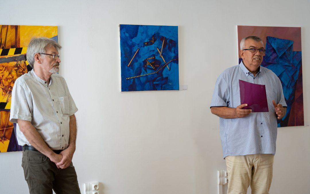 Toró József festőművész képeiből nyílt tárlat Házunkban