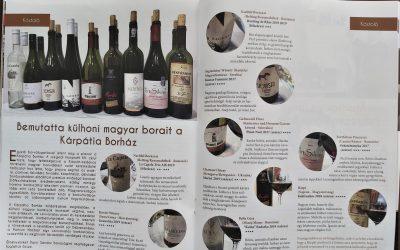 Külhoni magyar borainkról írt a Debreceni Borozó