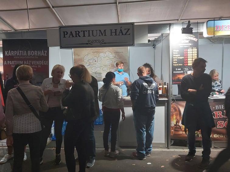 A Zamat Fesztiválon is nagy sikert arattak a külhoni magyar borok