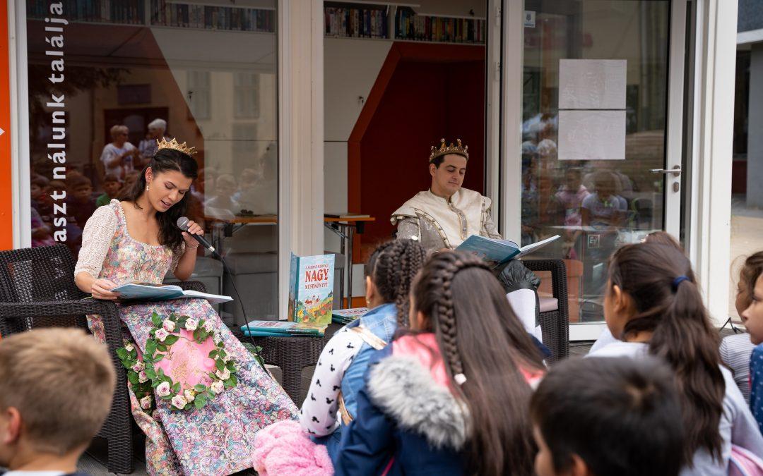 Idén is különleges programokat kínáltunk a Debreceni Ünnepi Könyvhéten