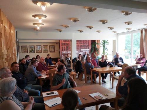 Stratégiai megbeszélésen a Magyar Házak munkatársai